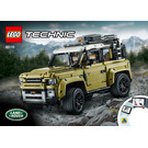 LEGO Land Rover Defender Set 42110 Instructions