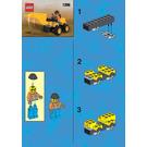 LEGO Land Scooper Set 1296 Instructions