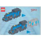 LEGO Large Locomotive Set 3741 Instructions