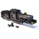 LEGO Large Train Engine and Tender with Black Bricks (Motorizable) Set 4186868