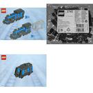 LEGO Large Train Engine and Tender with Black Bricks Set
