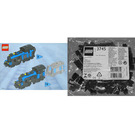 LEGO Large Train Engine with Black Bricks Set