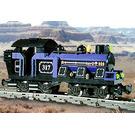 LEGO Large Train Engine with Blue Bricks Set