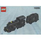 LEGO Large Train Engine with Tender, Black  Set 10205