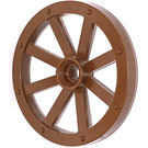 LEGO Large Wagon Wheel  34mm diameter with Round Hole for Wheels Holder Pin (4489)