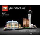 LEGO Las Vegas Set 21047 Instructions