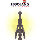 LEGO Las Vegas Skyline Eiffel Tower  Set LLCA25 Instructions