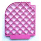LEGO Lattice Wall with Curved Top 12 x 1 x 12 (6166)