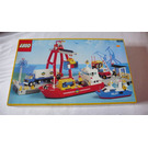 LEGO Launch & Load Seaport Set 6542 Packaging