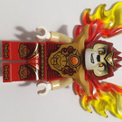 LEGO Laval - Armor Breastplate, Flame Wings Minifigure