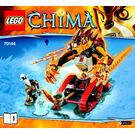 LEGO Laval's Fire Lion Set 70144 Instructions