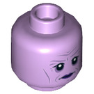 LEGO Lavender Library Ghost Plain Head (Recessed Solid Stud) (24795)