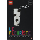 LEGO Le Fleuriste Collector Vase Set Instructions