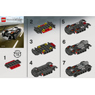 LEGO Le Mans Racer Set 7802 Instructions