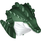 LEGO Leatherhead Body with White Chest Pattern (17274)