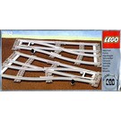 LEGO Left and Right Points Manual Grey 4.5 V Set 7852