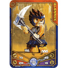 LEGO Legends of Chima Game Card 003 LENNOX (12717)