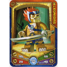 LEGO Legends of Chima Game Card 004 LEONIDAS (12717)