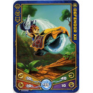 LEGO Legends of Chima Game Card 007 DEFENDOR XII (12717)
