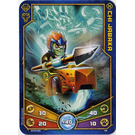LEGO Legends of Chima Game Card 016 CHI JABAKA (12717)