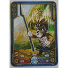 LEGO Legends of Chima Game Card 023 JABAKA (12717)