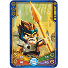 LEGO Legends of Chima Game Card 024 JABAKA (12717)