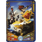 LEGO Legends of Chima Game Card 027 SERAAT (12717)