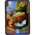 LEGO Legends of Chima Game Card 028 HYPAZOOM (12717)