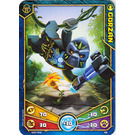 LEGO Legends of Chima Game Card 046 GORZAN (12717)