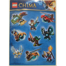 LEGO Legends of Chima sticker sheet (25068211)