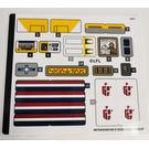 LEGO LEGO Aufkleber Sheet for Set 75290 (68765)