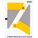 LEGO LEGO Sticker Sheet 1 for Set 60093