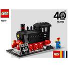 LEGO LEGO® Trains 40th Anniversary Set 40370 Instructions