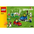 LEGO LEGOLAND Driving School Set 40347 Instructions