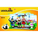 LEGO LEGOLAND Entrance with Family Set 40115 Instructions