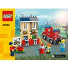 LEGO LEGOLAND Fire Academy Set 40393 Instructions