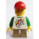 LEGO Legoland Train Child, Boy Minifigure