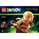 LEGO Legolas Set 71219 Instructions