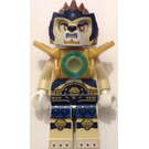 LEGO Lennox with Pearl Gold Armor and Dark Blue Hips with Tan Legs Minifigure
