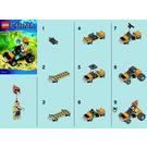 LEGO Leonidas' Jungle Dragster Set 30253 Instructions