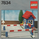 LEGO Level Crossing Set 7834 Instructions