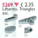 LEGO Lift-Arms and Triangles Set 5269