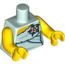 LEGO Light Aqua Fairy Torso (88585)
