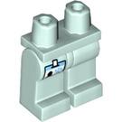 LEGO Light Aqua Veterinarian Minifigure Hips and Legs (33020)
