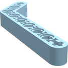LEGO Light Blue Beam Bent 53 Degrees, 3 and 7 Holes
