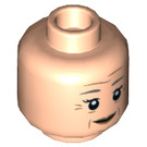 LEGO Aunt May Minifigure Head (Recessed Solid Stud) (26991)