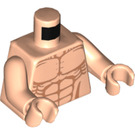 LEGO Light Flesh Bare torso with body-builder abdominal muscles (76382)