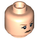 LEGO Claire Minifigure Head (Recessed Solid Stud) (21574)