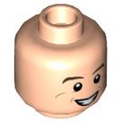 LEGO Light Flesh Dr. Raymond Stantz Plain Head (Recessed Solid Stud) (18877)