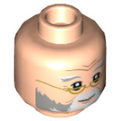LEGO Light Flesh Dumbledore Head (Recessed Solid Stud) (39629)